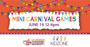 Kidzone at Callingwood Farmers Market